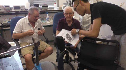 כסא גלגלים ממונע שהגיע משאנגהאי לבאר שבע