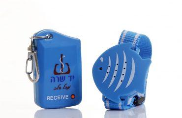 טפ-צפה מכשיר חיישן למניעת שכחת התינוק ברכב