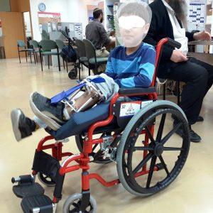 כסא גלגלים לילדים