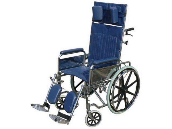 כסא גלגלים גב הטיה - רקליינר